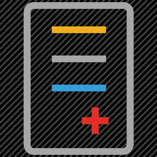healthcare, medical, medications, prescriptions icon