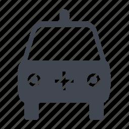 ambulance, car, care, emergency, healthcare, hospital, medical, vehicle icon