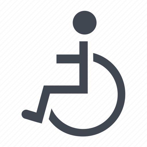aid, healthcare, hospital, ill, patient, sick, wheelchair icon