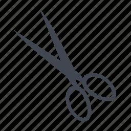 cutter, hospital, operation, scissor icon
