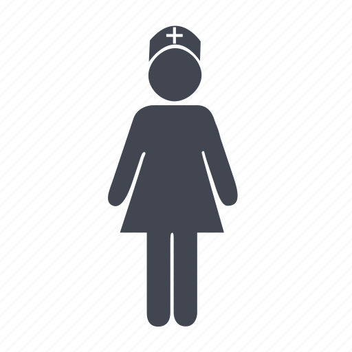 doctor, female, girl, hospital, lady doctor, member, nurse, sister, staff, woman icon