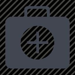 bag, box, case, doctor, hospital, medical, medicine basket icon
