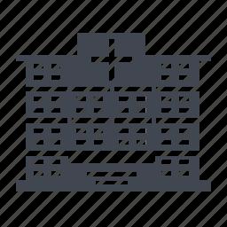 clinic, hospital, medical icon