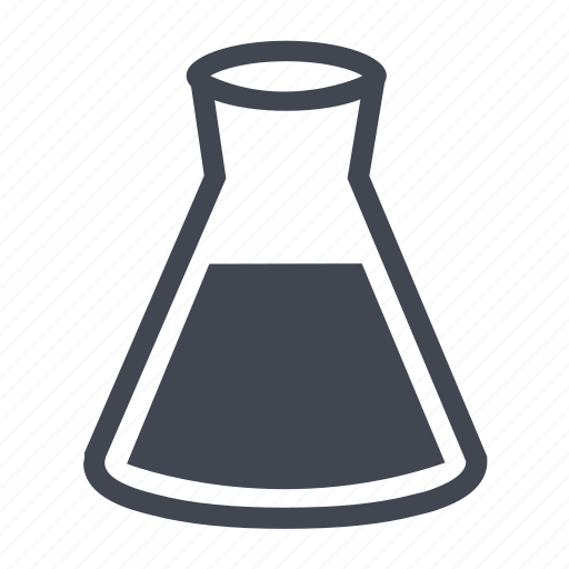 chemical, chemistry, examine, experiment, flask, jar, lab, laboratory, medical, medicine, pot, research, tube icon