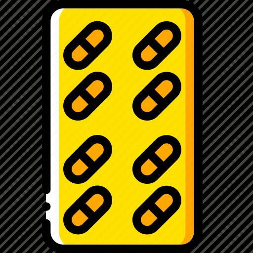 medical, medication, pills, prescription, tablets icon