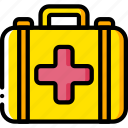 aid, clinic, doctor, equipment, first, kit, medical icon