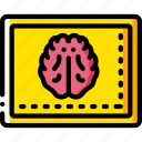 brain, equipment, health, medical, monitor, patient, surgical icon