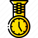 fob, medical, nurse, time, watch icon
