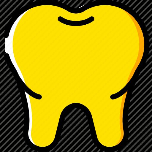 clean, dentist, hygiene, medical, tooth icon