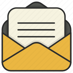 email, envelope, letter, mail, message, messages, send icon
