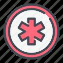 ambulance, cross, expense, healthcare, medical, medicine icon
