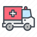 ambulance, car, emergency, hospital, medical, truck