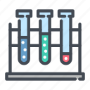 assay, experiment, flask, lab, medical, test, tube icon