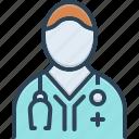 doctor, otorhino laryngologist, physician, professional, stethoscope, surgeon, surgery