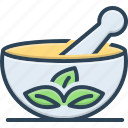 ayurveda, herbal, medical herbs, pestle, therapy, traditional, traditional therapy icon