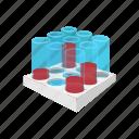 blood, cartoon, health, laboratory, sample, test, tube