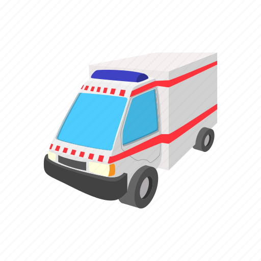 aid, ambulance, cartoon, health, hospital, medical, medicine icon