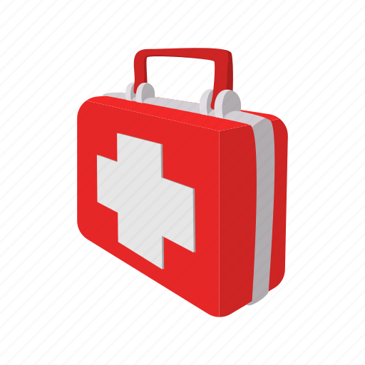 aid, box, cartoon, case, first, hospital, medicine icon