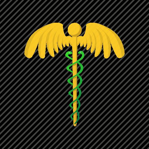 cartoon, health, hospital, medical, pharmaceutical, snake icon