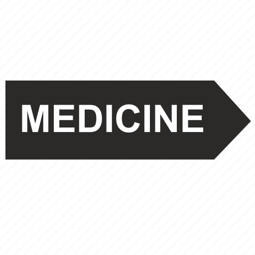arrow, medicine, right icon