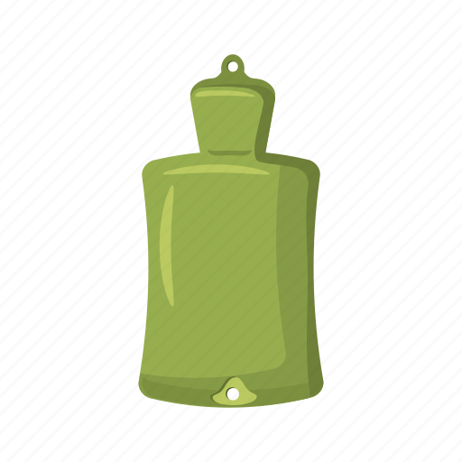 bag, bottle, cartoon, hot, rubber, warm, water icon