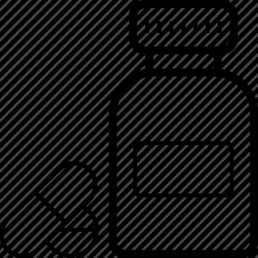 capsule, drugs, medicine, pill icon