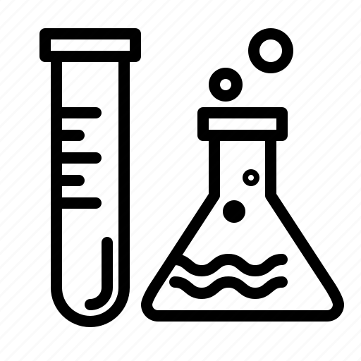 chemistry, experiment, laboratory, medicine, research, science, treatment icon