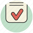 checklist, clipboard, creative, document icon