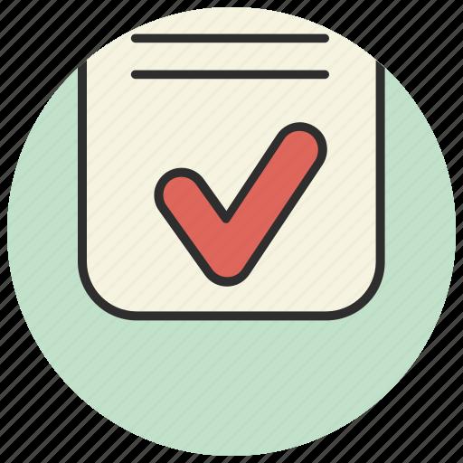 checklist, clipboard, creative, document icon
