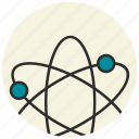 atom, chemistry, education, experiment, laboratory, physics, science icon