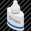 eye care, eye drop bottle, eye drops, eye infection, eye medication icon