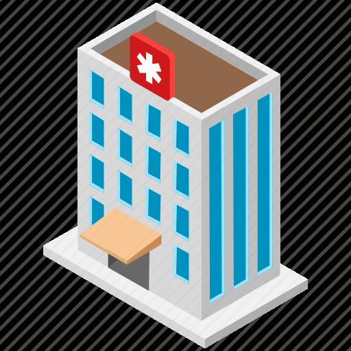 clinic, dispensary, hospital, infirmary, sanatorium icon