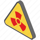 dangerous, hazard, poison, radioactive, toxic icon