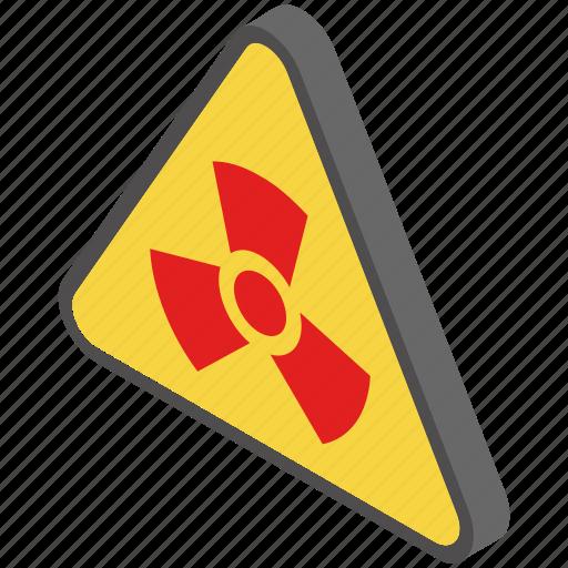 dangerous, hazard, poison, radioactive, toxic icon