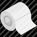 accessory, bathroom, tissue, tissue roll, toilet paper icon