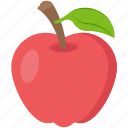 apple, food, fruit, healthy diet, snack icon