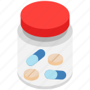 antibiotic, medical treatment, medicine jar, pill bottle, prescription drug