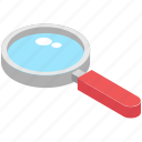 investigation, looking glass, magnifier, magnifying glass, research icon