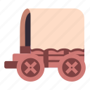 old, medieval, wagon, transportation, retro, carriage, transport icon