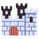 medieval, building, stone, wall, architecture, castle, tower
