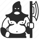 medieval, executioner, ancient, age, middle, punishment, history icon