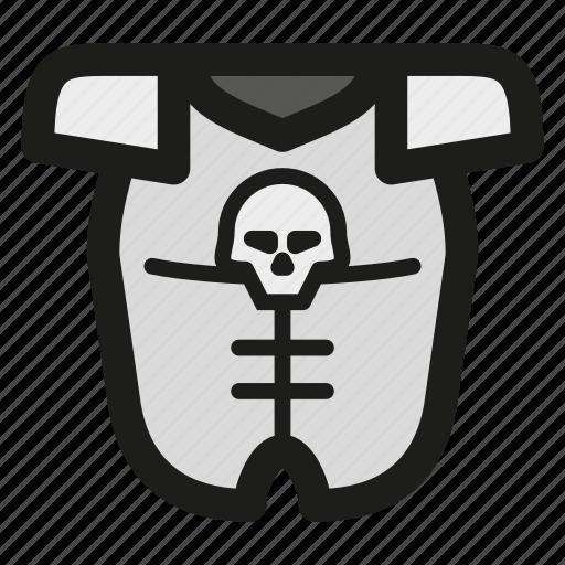 armor, armour, game, rpg, skull icon
