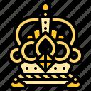 crown, dynasty, king, royal, throne icon