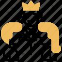chairman, committee, meeting, moderator, organizer icon