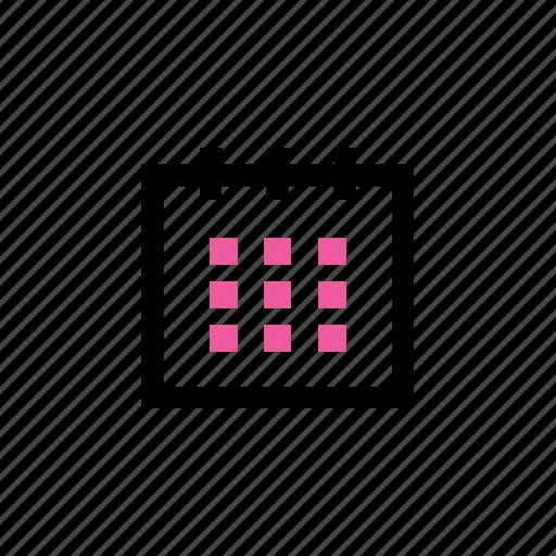 calendar, date, schedule, time icon