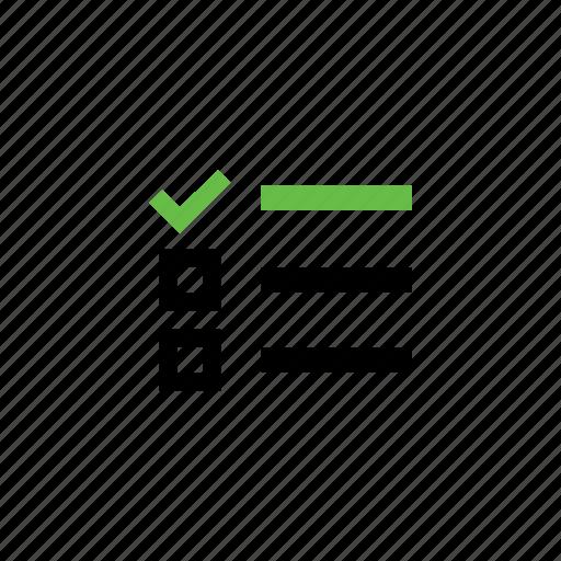 event, item, item list, list, to do list icon
