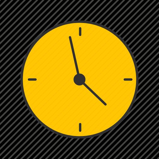 alarm, clcok, digital clock, wall clock icon