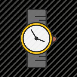 clock, digital clock, watch, wrist watch icon