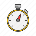 pocket watch, stop watch, timer, watch icon