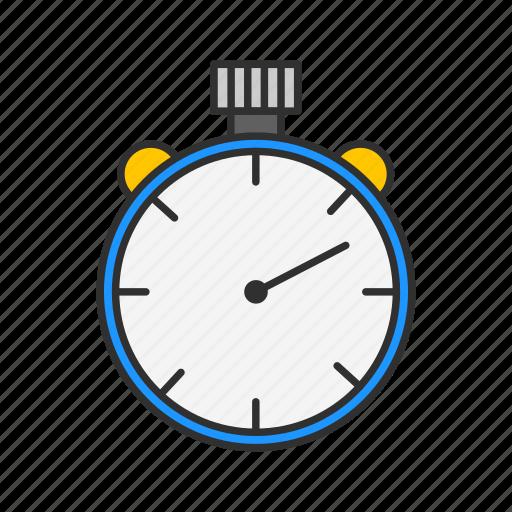 alarm, analog clock, clock, watch icon